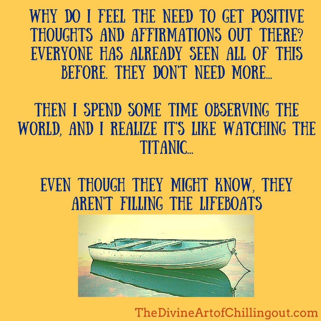 Lifeboat surrender